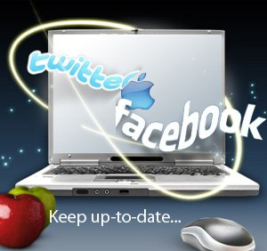 Facebook Twitter - Angel Key Publications